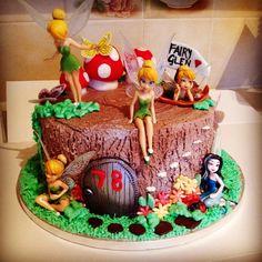 Fairy Glen chocolate cherries and kirsch Birthday Cake