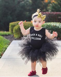"""Little Wonderland Clothing on Instagram: """"Tuesday's are for Tutus + Rock n Roll Ballerinas!  How cute is Joss with her little Mohawk! <<so cute>> ❤️ Defiantly a little Rock n Roll ballerina in our Leo + Love that tutu from @tinandella + Sparkle gold bow @bowlovelyboutique + her little Moccs @radmoccs <<swooning>>  #streetstyle #ootd #style #trendykiddies #hipsterkidstyles #trendy_tots #igkiddies #kidfashion #weekleyoutfitter #toddlerfashion #baby #hipster #hipkids #photooftheday"""