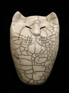 Raku Kitty by Paul Rideout (AKA: PALUL)