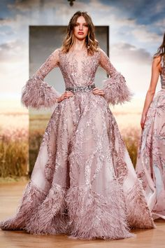Ziad Nakad Fashion Show Couture Collection Spring Summer 2018 in Paris