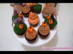 Halloween!!! Cupcakes de Chocolate de Terror!!!