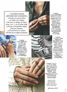 FEIDT Paris bague in the moon for love Marie Claire
