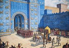 Reconstruction of the Ishtar Gate in ancient Babylon. Ancient Mesopotamia, Sumerian, Seven Wonders, 2017 Images, In Ancient Times, Culture, Ancient History, World, Pictures