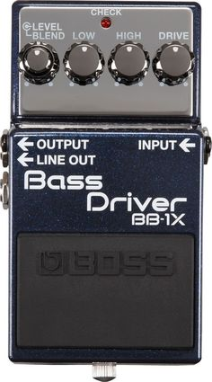 Bass Driver BB-1X Guitar Effects Pedals, Guitar Pedals, Guitar Scales, Guitar Tabs, Music Guitar, Guitar Notes, Acoustic Guitar, Boss Pedals, Best Guitar Players