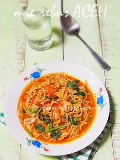 mie rebus aceh Mie Noodles, Mie Goreng, Low Calorie Dinners, Indonesian Cuisine, Asian Recipes, Ethnic Recipes, Food Fantasy, Noodle Recipes, Base Foods