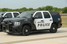 New Denton Police Vehicles