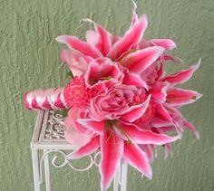 Silk Flowers by Jean