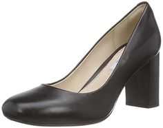 Clarks Gabriel Mist, Damen Pumps, Schwarz (Black Leather), 42 EU (8 Damen UK) - http://on-line-kaufen.de/clarks/42-eu-clarks-gabriel-mist-damen-pumps-3