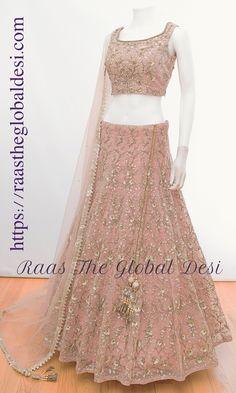 Shop Chaniya choli - handmade chaniya choli , ghaghra choli at afordable price Indian Fashion Dresses, Indian Bridal Outfits, Indian Gowns Dresses, Dress Indian Style, Indian Designer Outfits, Bridal Lehenga Online, Designer Bridal Lehenga, Indian Lehenga, Lehenga Choli