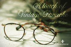 bf953dd418e Add a dash of vintage panache with Seraphin s Milton frame. Eyewear