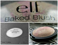 E.L.F Baked Blush in pinktastic is the perfect cheekbone highlight. I love this so much it looks so pretty.