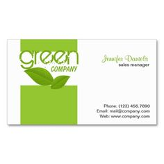 101 best 100 creative green business cards for your inspiration eco friendly green activities business card templates this is a fully customizable business card friedricerecipe Images