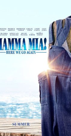 Directed by Ol Parker.  With Amanda Seyfried, Lily James, Christine Baranski, Meryl Streep. Plot unknown. Sequel to the 2008 musical comedy ' Mamma Mia!'