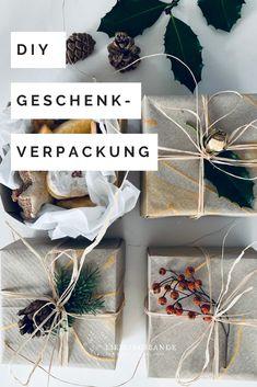 Einfache, zauberhafte Geschenkboxen aus Papier falten. Auch ein wunderbares DIY für kleine und grosse Kinder