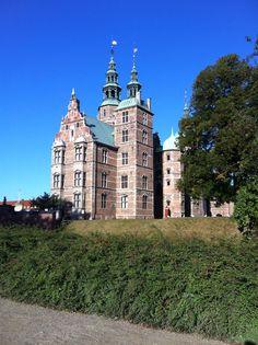 Danmark, København- Royal castle, Rosenborg Slot.