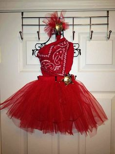 Cowgirl Tutu Costume Halloween Dress-up Free Shipping