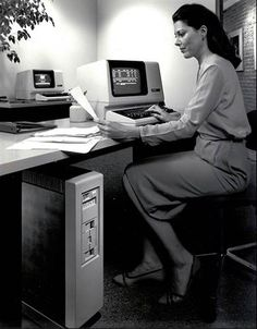 "Digital Equipment Corporation debuts ""low-cost microcomputer"" - computer fashions of the 1980s"