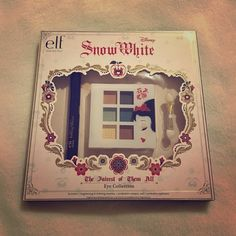 ELF Disney Snow White Eye Collection Sweet ELF Disney Snow White eye set. Includes mascara, an eyeshadow compact with 6 colors and an eyeshadow applicator. Brand new; never used. ELF Makeup Eyeshadow