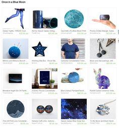 Once in a Blue Moon treasury by Major Tom https://www.etsy.com/nz/shop/MajorTomJewellery