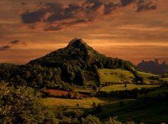 Volcanic peak Ostrvica-Mountain Rudnik,Serbia