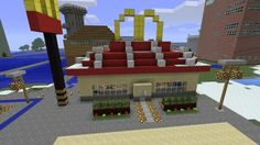Awesome Minecraft Build: McDonalds✅ #Minecraft #VideoGames #Game