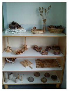 Sensory shelf