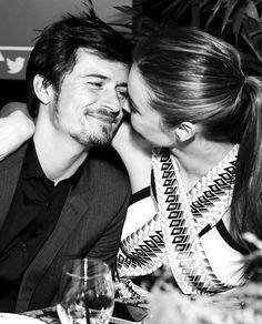 Miranda Kerr with her beautiful husband Orlando Bloom.......