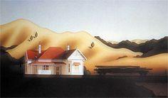 Brian Dahlberg // Lindis Pass   #Art #Landscape #Oil #Painting #NewZealand