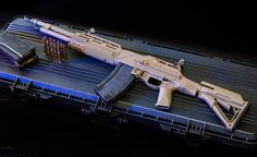 The Ohio Ordnance Works HCAR (Heavy Counter-Assault Rifle). Based on the classic M1918 BAR.