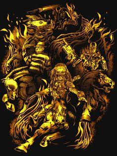 Four Horsemen of the Sci Fi Apocalypse