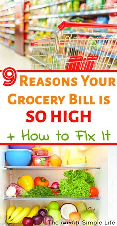 If you want to save money on your grocery bill (without coupons), you've got to check out these hacks. Great ideas for buying groceries on a budget - perfect for families who want to eat healthy #mealplanning #grocery #grocerybudget #savemoney #moneysavingtips #onabudget #frugalliving #frugal #groceries