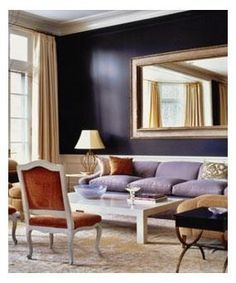 Eggplant wall color for accent wall in MBR????