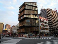 Asakusa Culture Tourist Information Center by Kengo Kuma