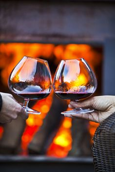 perfect winter afternoon. brown estate winery. via www.mynapavalleylife.com