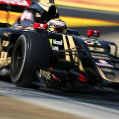 """Practice day for the #HungarianGP, with Pastor whizzing around the Hungaroring in his E23!"" Photo taken by @lotusf1team on Instagram, pinned via the InstaPin iOS App! http://www.instapinapp.com (07/25/2015)"
