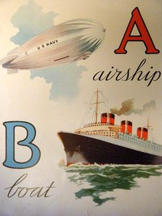 ABCs Alphabet Pages from Vintage Childrens Book