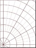 Free Online Graph Paper / Grid Paper PDFs - squares, triangles,hexagonal, circular, polar, etc. - useful tool when designing/blocking lace,
