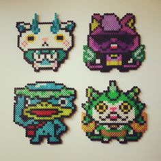 Yo-Kai Watch perler beads by julyandjuly