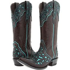 cowgirl boots- not into western boots, but the color detail on these are so cool! Cowgirl Style, Cowgirl Boots, Cowgirl Outfits, Western Wear, Western Boots, Country Boots, Sock Shoes, Shoe Boots, Rain Boots