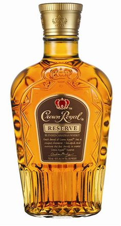 Crown Royal Reserve: Crown Royal calls their Reserve blend a gift to whisky enthusiasts with a creamy, rich, reserve-grade blend, flush with sharp clove, cinnamon and top-points of rye.