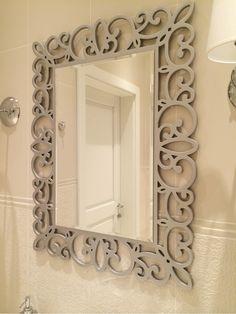 Зеркала в золотой раме, зеркало в прихожую, зеркало в ванную, зеркала Киев