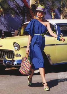 Dree Hemingway - Vogue Nippon July 2011