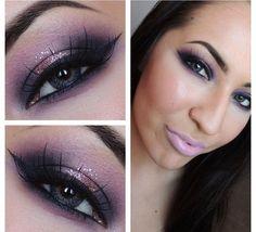 20 Wonderful Purple Smokey Makeup Tutorials