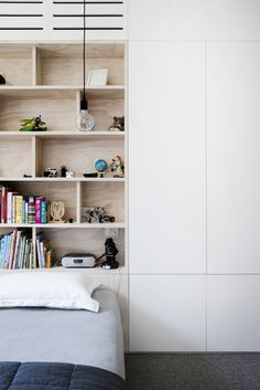This Grand Victorian Terrace in the inner city of Sydney, has been transformed into a modern contemporary space whilst respecting its heritage. Victorian Terrace, Built In Wardrobe, Kids Wardrobe, Contemporary Home Decor, Kid Spaces, Beautiful Bedrooms, Room Inspiration, Interior Inspiration, Kids Bedroom