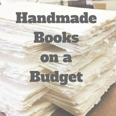 10 Tips for creating handmade books if you're on a budget (and who isn't? diy book 10 Tips for Creating Handmade Books on a Budget Album Journal, Junk Journal, Scrapbook Journal, Journal Covers, Journal Ideas, Diy Birthday Card, Book Crafts, Paper Crafts, Craft Books