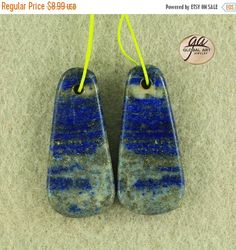 on sale EA10332  Beautiful Lapis Lazuli Earrings by Artiststone