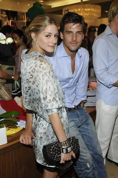 Olivia with her hubby Johannes