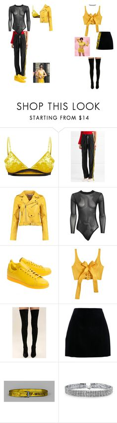 """""""You do what you want when you poppin"""" by queenet ❤ liked on Polyvore featuring Off-White, Boohoo, adidas Originals, MARA, Cape Robbin, Bling Jewelry and Quay"""