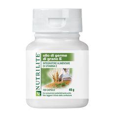 Olio di Germe di Grano E (100 capsule) | Amway, sistema vascular, la vitamina E = pelle