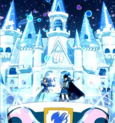 Juvia and Gray's ice palace